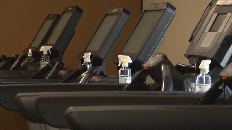 Gym owners are making preparations for when they're able to reopen again.
