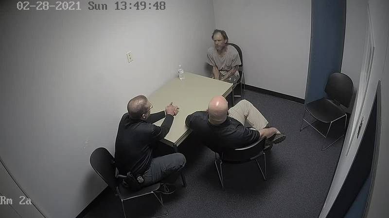 James Hamilton interview with police on Feb. 28, 2021.