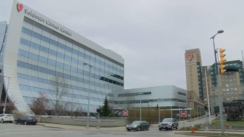 University Hospitals Cleveland Medical Center in University Circle