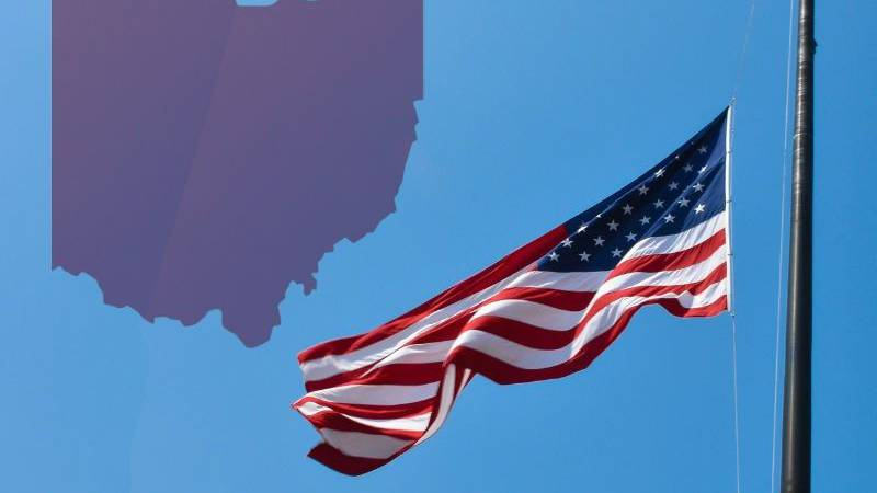 Ohio Governor John Kasich is ordering that all flags in the state on public buildings and...