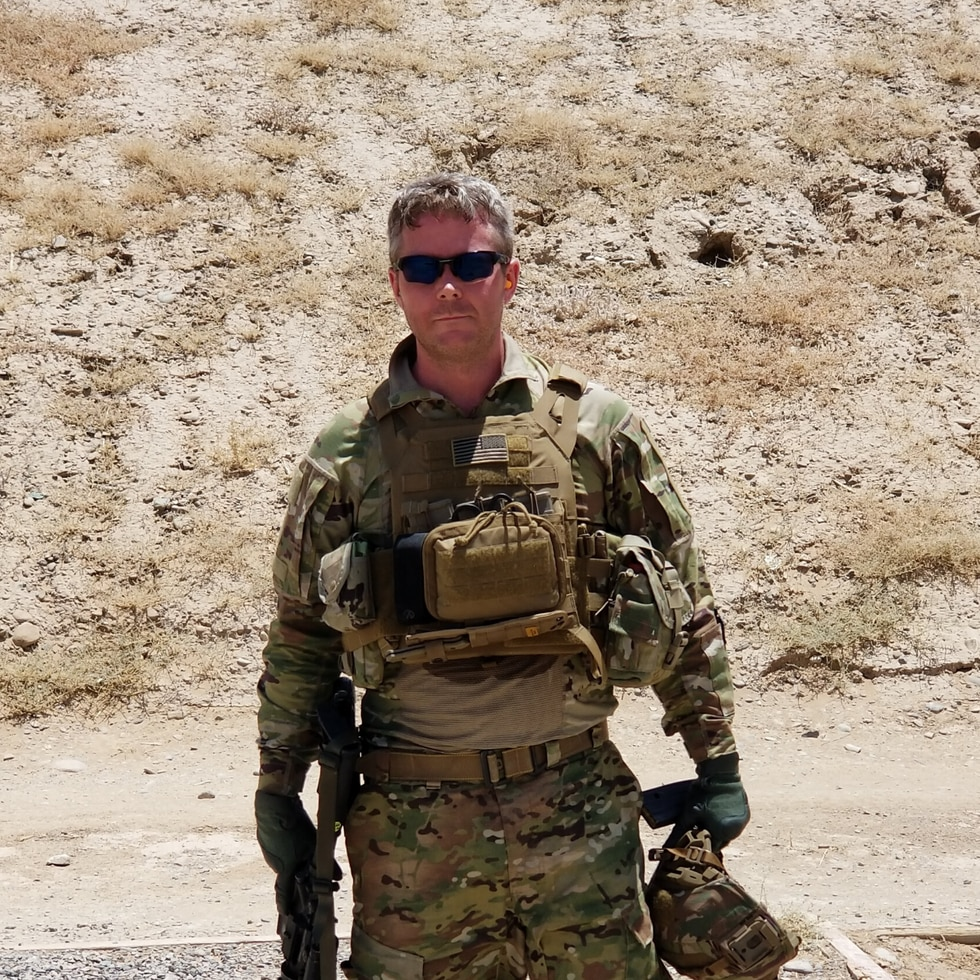 Major Michael Roland turned out to be a bone marrow match for a Northeast Ohio girl who was...