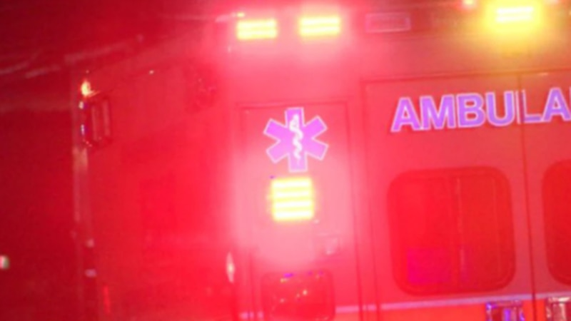 A motorcyclist was hospitalized in a crash in North College Hill overnight, police say.