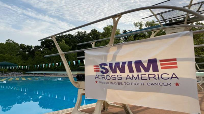 The Five Seasons Sports Club in Symmes Township partnered with nonprofit Swim Across America to...