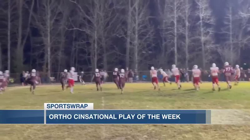 OrthoCinsational Play of the Week - Beechwood quarterback Cam Hergott