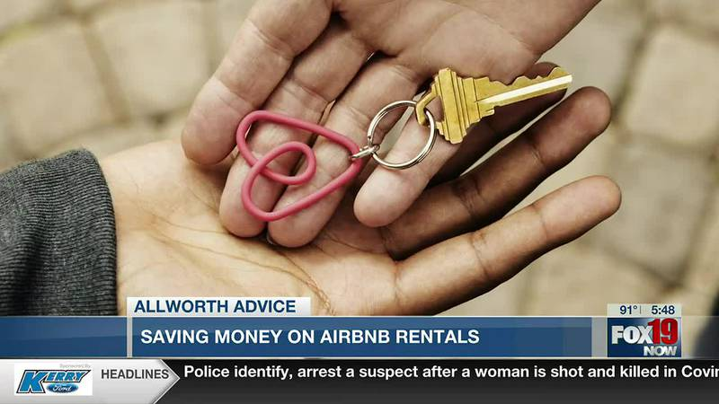 Allworth Advice: Saving money on Air Bnb rentals