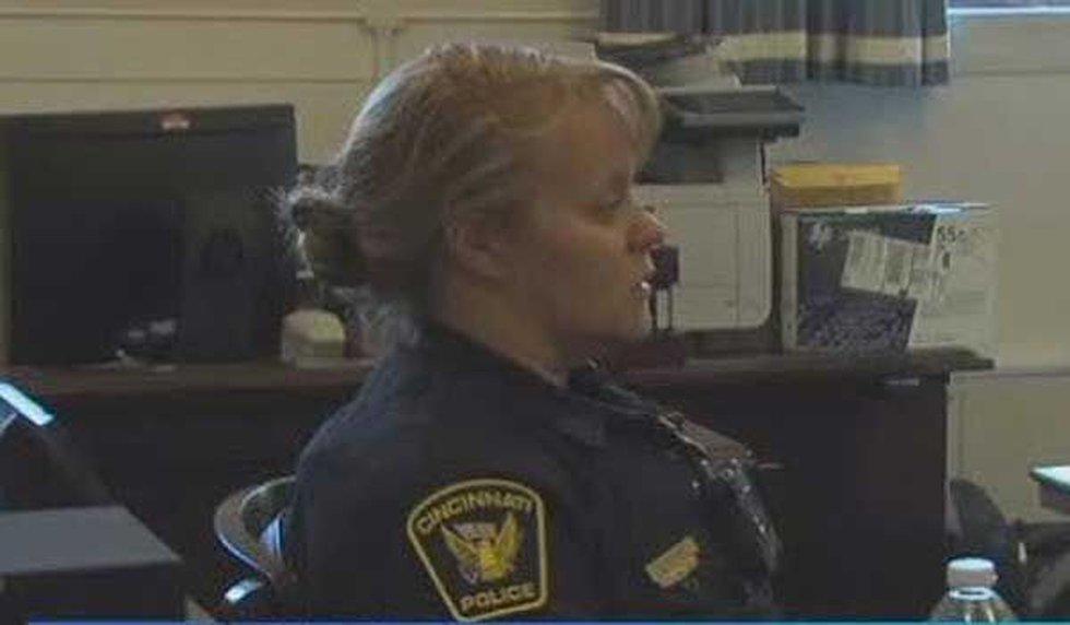 Cincinnati Police Sgt. Shannon Heine (FOX19 NOW)