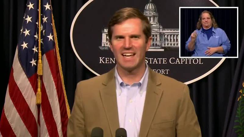 Ky. Gov. Beshear gives update on commonwealth's reopening plans