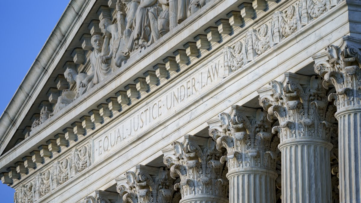 FILE - In this June 30, 2021, file photo the Supreme Court is seen in Washington.  The Supreme...