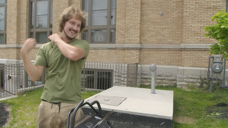 Jake Patterson, the owner of Motivational Mowing and Landscaping, says he has enjoyed cutting...