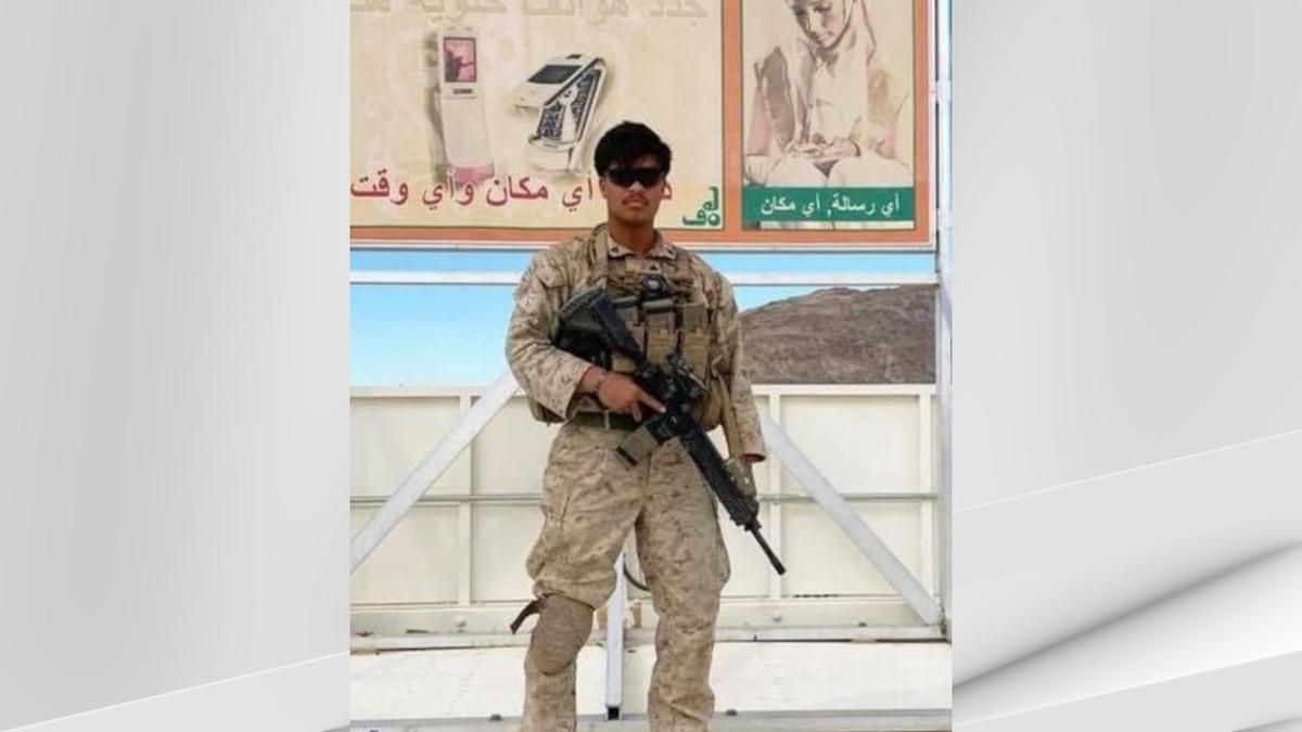 Marine Corps Cpl. Humberto Sanchez, 22, of Logansport, Indiana, was among 13 U.S. military...