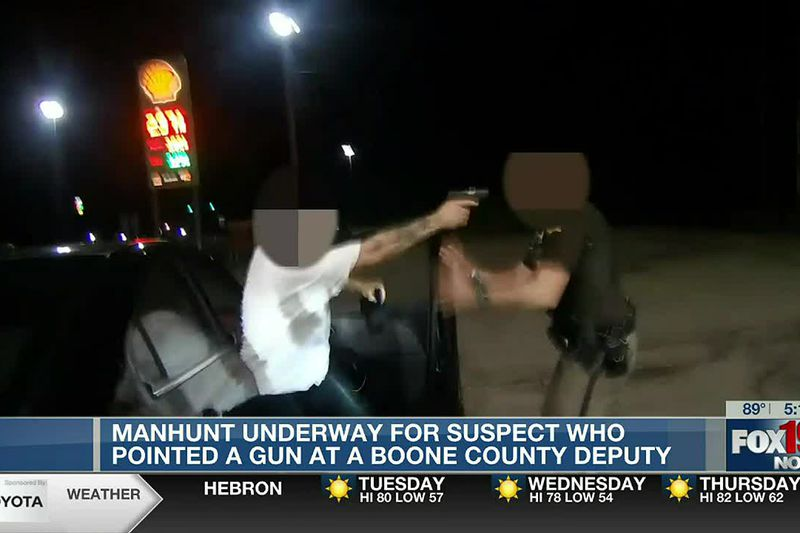 Suspect seen pointing gun at deputy also involved in NKY police chase, source confirms