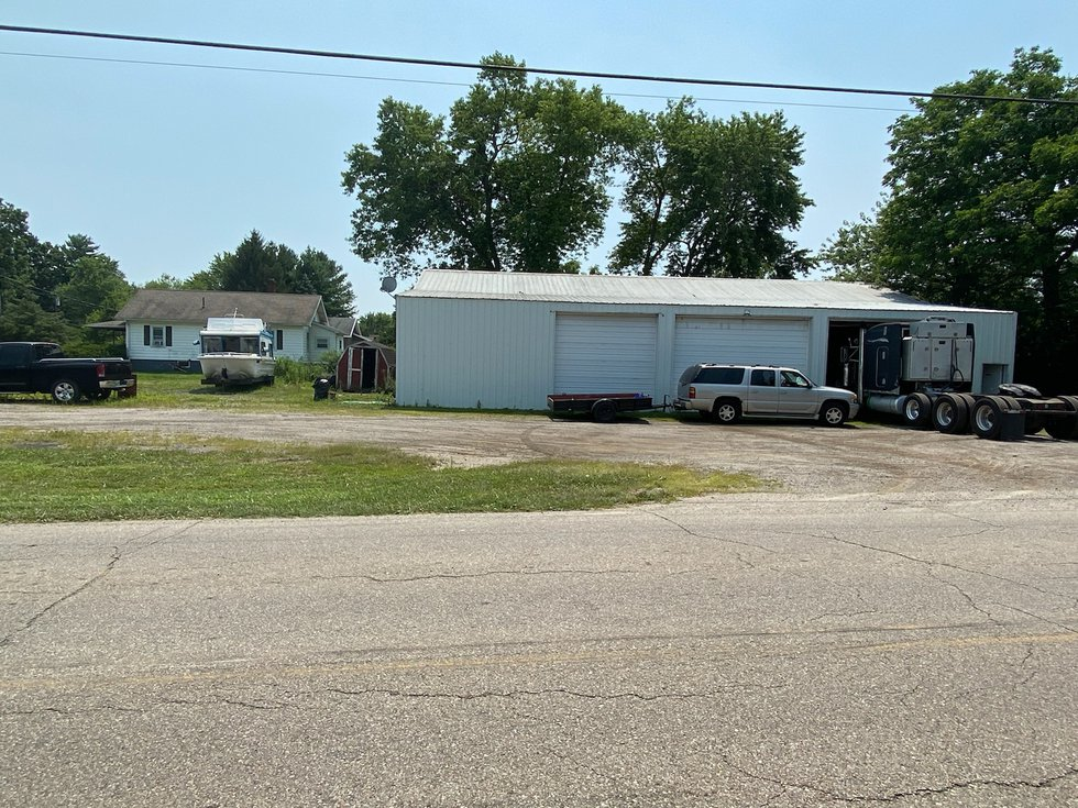 8383 Keister Road in Madison Township.