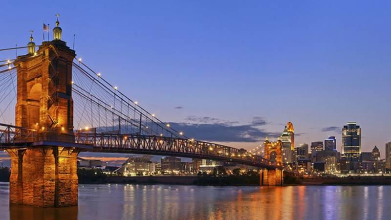 The John A. Roebling Bridge has been closed since Feb. 15.