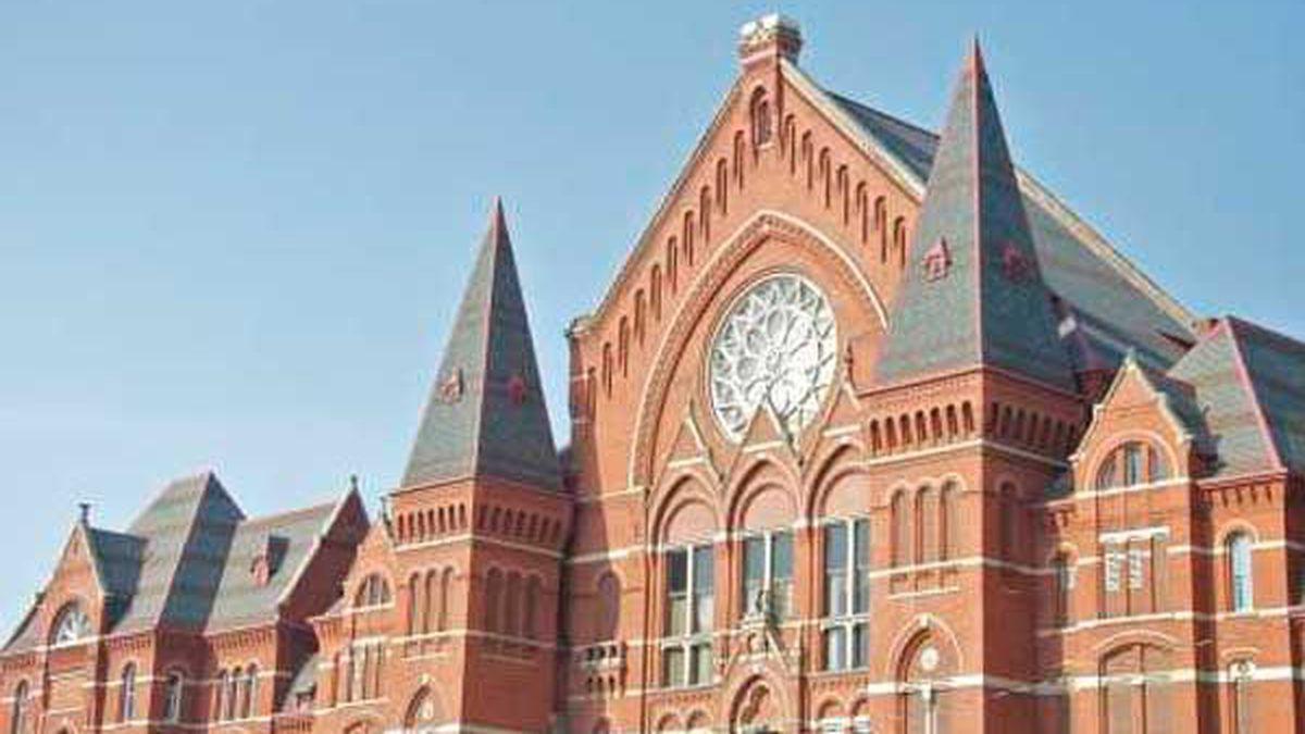 Cincinnati's Music Hall. (File)