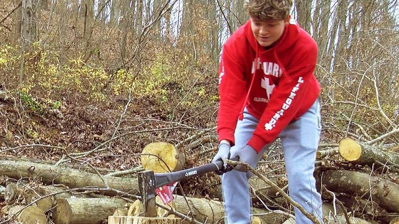Linda Hublard was shocked when her son Gavin, 14, was charged with vandalism in November. Now...