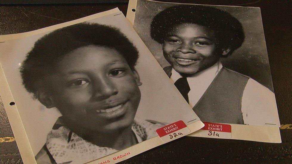 Victims Darrell Lane and Dante Evans Brown
