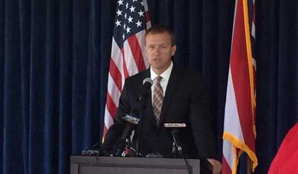 Warren County Prosecutor David Fornshell announces no indictment in the shooting death of Susan...