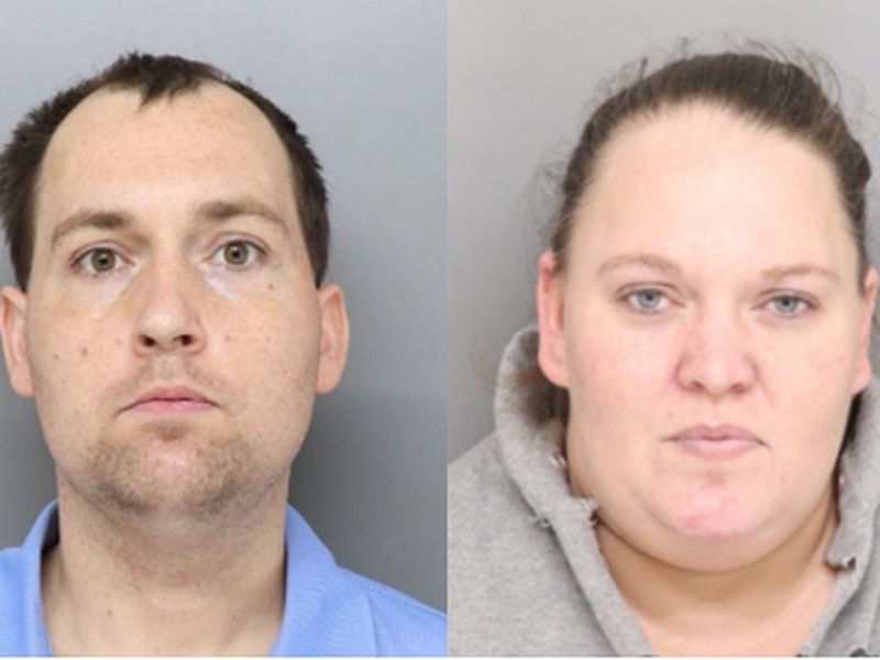 Christopher Richards Sr. (left), 36, and 35-year-old Dawn Kinnett (right) are each facing two...