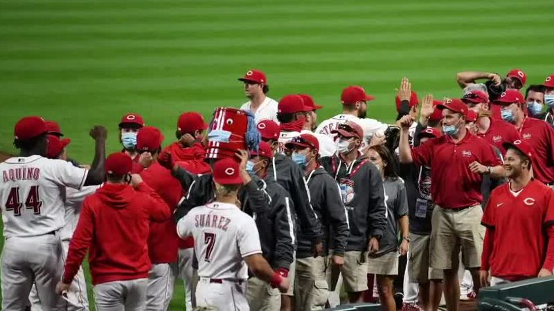 Reds grounds crew powers playoff push