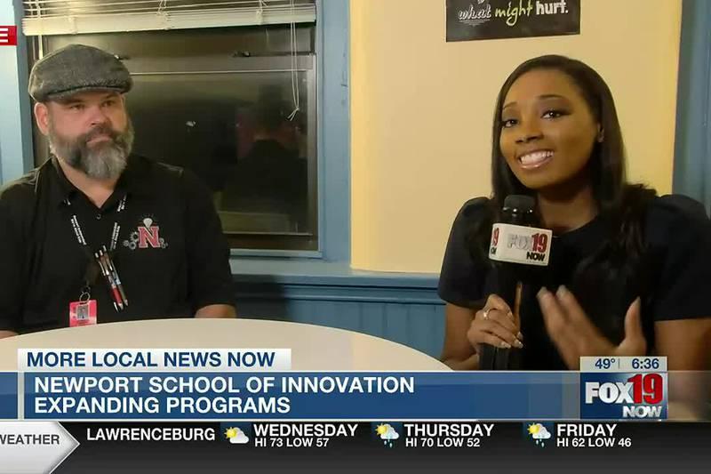 Programs expanding at Newport School Innovation