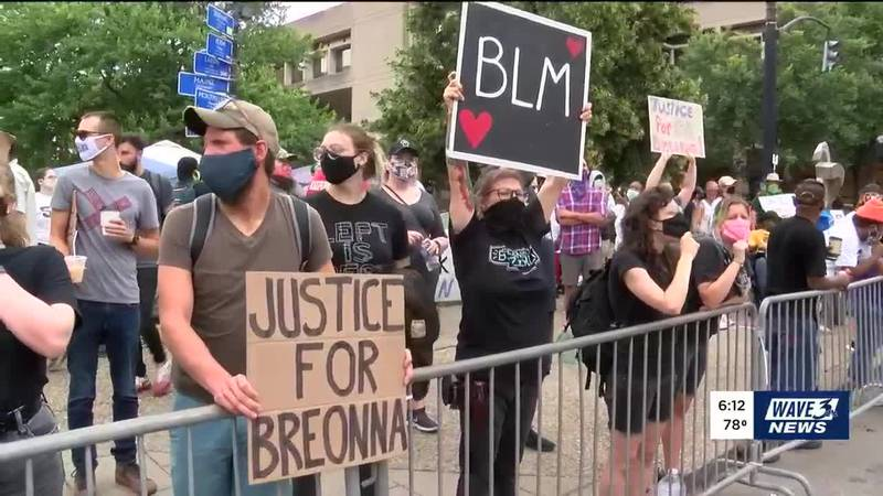 Monday marks day 54 of protests in Louisville, following the shooting death of Breonna Taylor....
