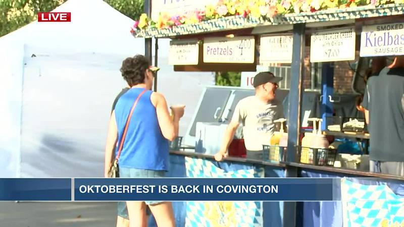 Oktoberfest returns to Covington