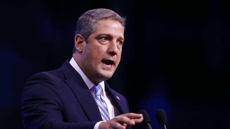 FILE - In this Sept. 7, 2019, file photo, Democratic presidential candidate Rep. Tim Ryan,...