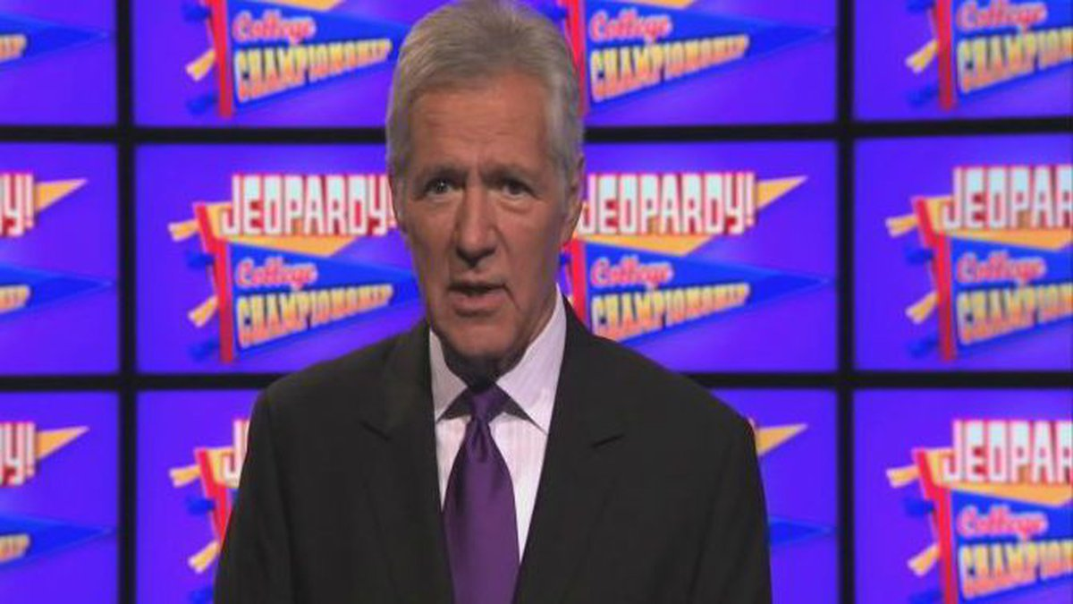 Alex Trebek says the college shows are a favorite.