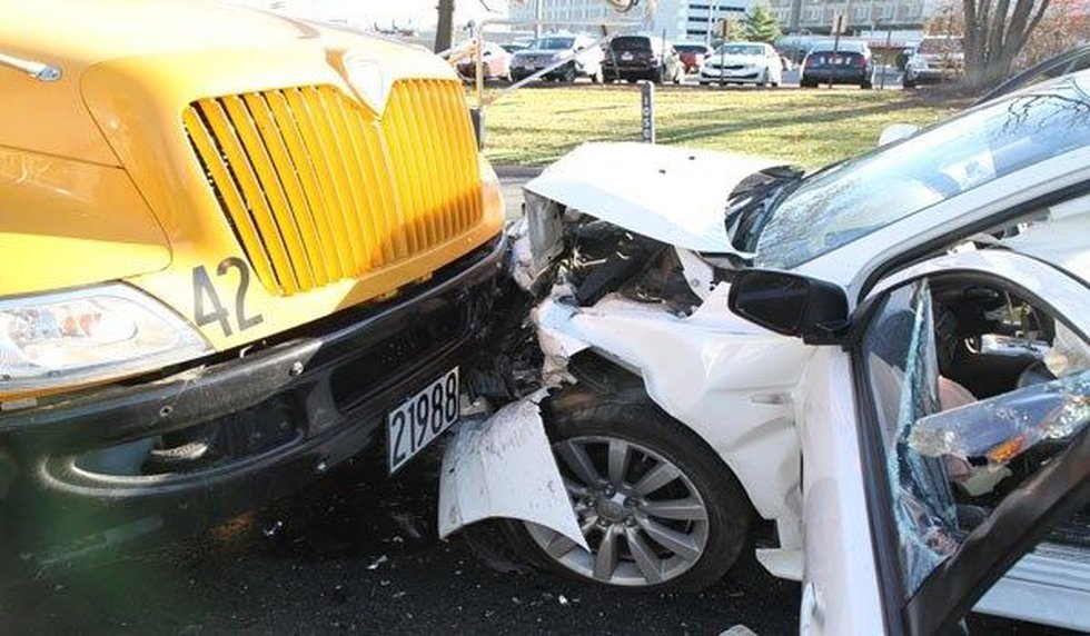 A photo of the crash (Photo: Montgomery police)