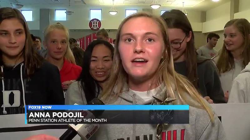 March's Penn Station Athlete of the Month: Anna Podojil