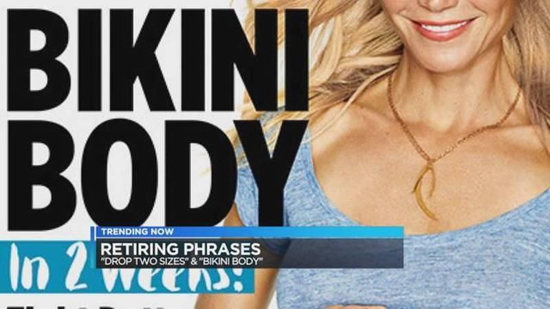 "Trending Now: Magazine bans ""Bikini bodies""; Purple-dyed kitten rescued in California"