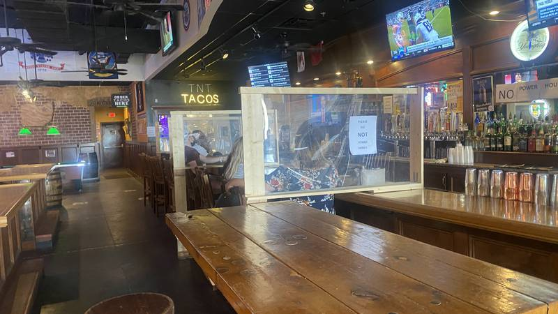 Tammy Larizza has been working at Ray's Pub in Akron for more than a decade and she says while...