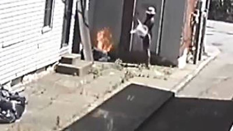 Cincinnati police say this person intentionally caused a fire in Camp Washington last week.