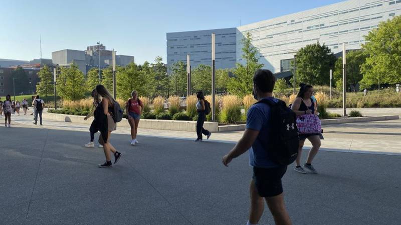Students, faculty and staff at the University of Cincinnati must have their first COVID-19...
