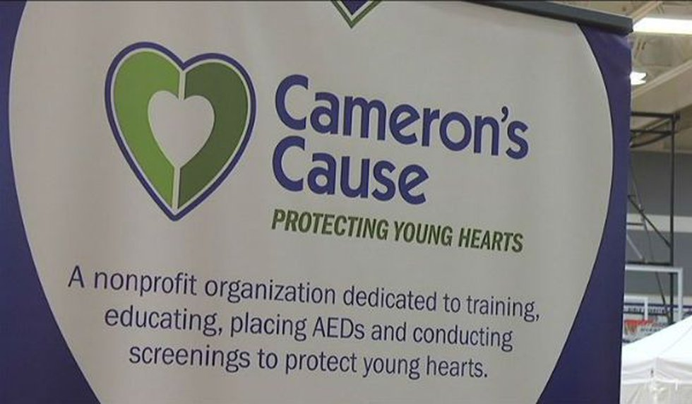 Batson's mom started a non-profit that conducts heart screenings and CPR training.