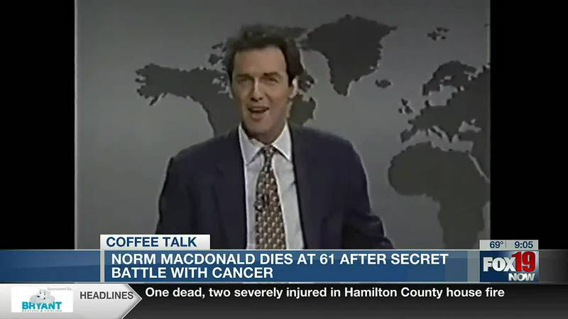 Coffee Talk - Comedian Norm MacDonald has died, Broadway in NYC Reopens
