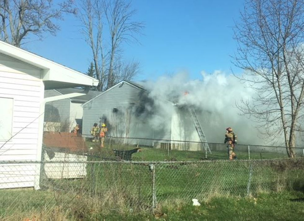 Auto body shop fire on Wilson Ave. (Source: Captain Steve Conn)