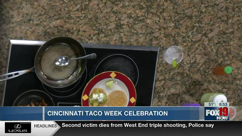 Mazunte chef makes tacos in honor of Cincy taco week