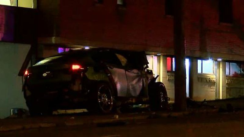 A female pedestrian was struck and killed by a vehicle that crashed in Mt. Auburn Wednesday...