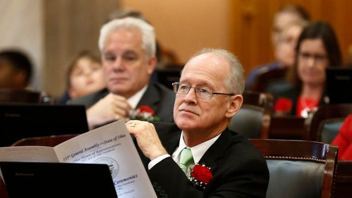 Rep. Doug Green, R-Mt. Orab, photographed January 7, 2019 during opening day ceremonies at the...