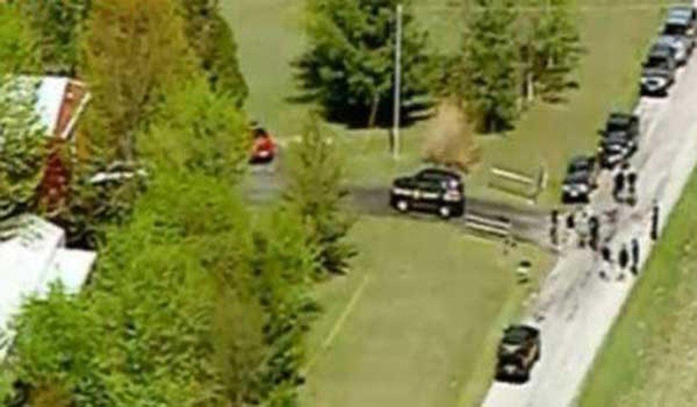 Above the shooting scene (CNN)