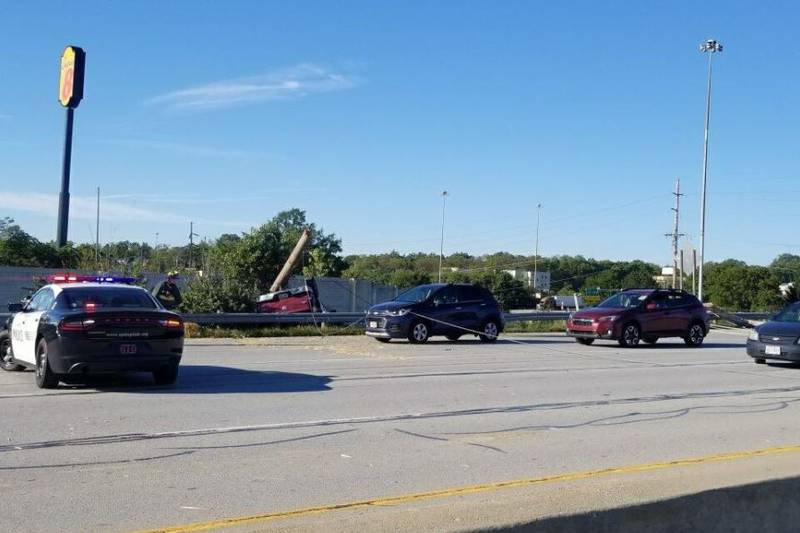 All lanes were closed several hours on I-275 at Springfield Pike due to a crash.