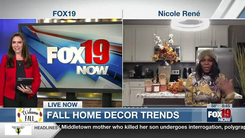 Fall Home Decor Tips with Nicole Rene