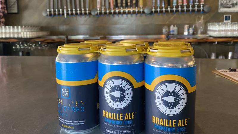 Braille Ale at West Side Brewing