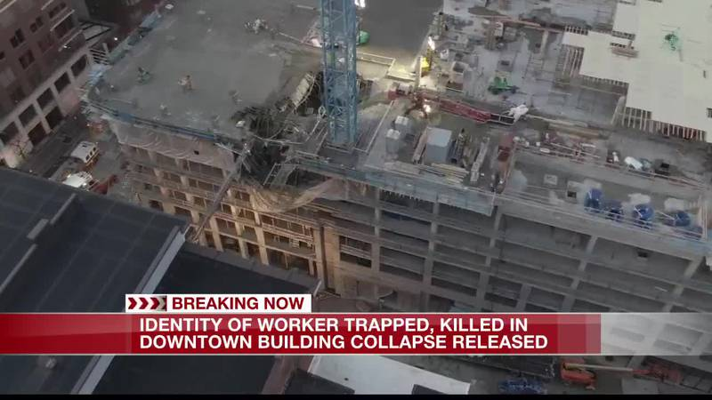 Sky FOX19 video of downtown building collapse