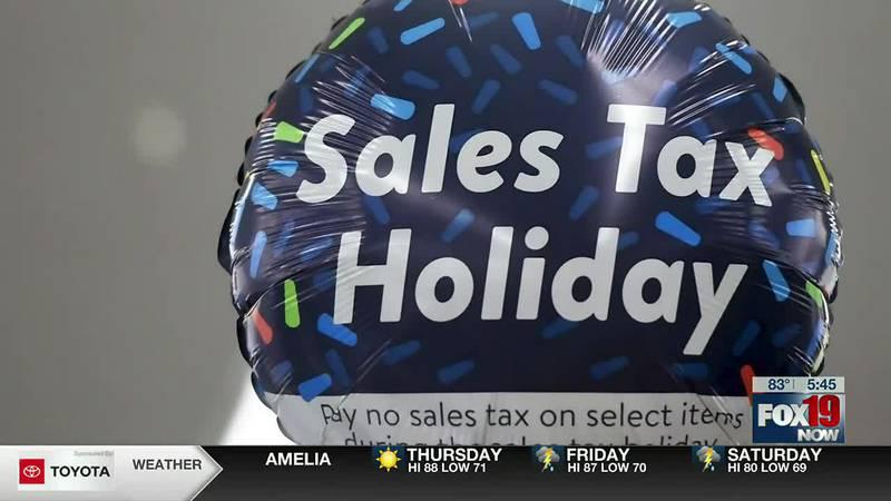 Allworth Advice: Saving big during tax-free weekend
