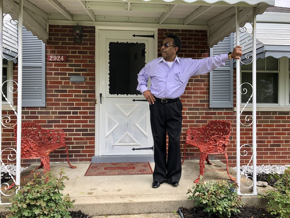 Cincinnati resident, Wilbur Bobo, one of a million unemployment claims in Ohio. He has yet to...