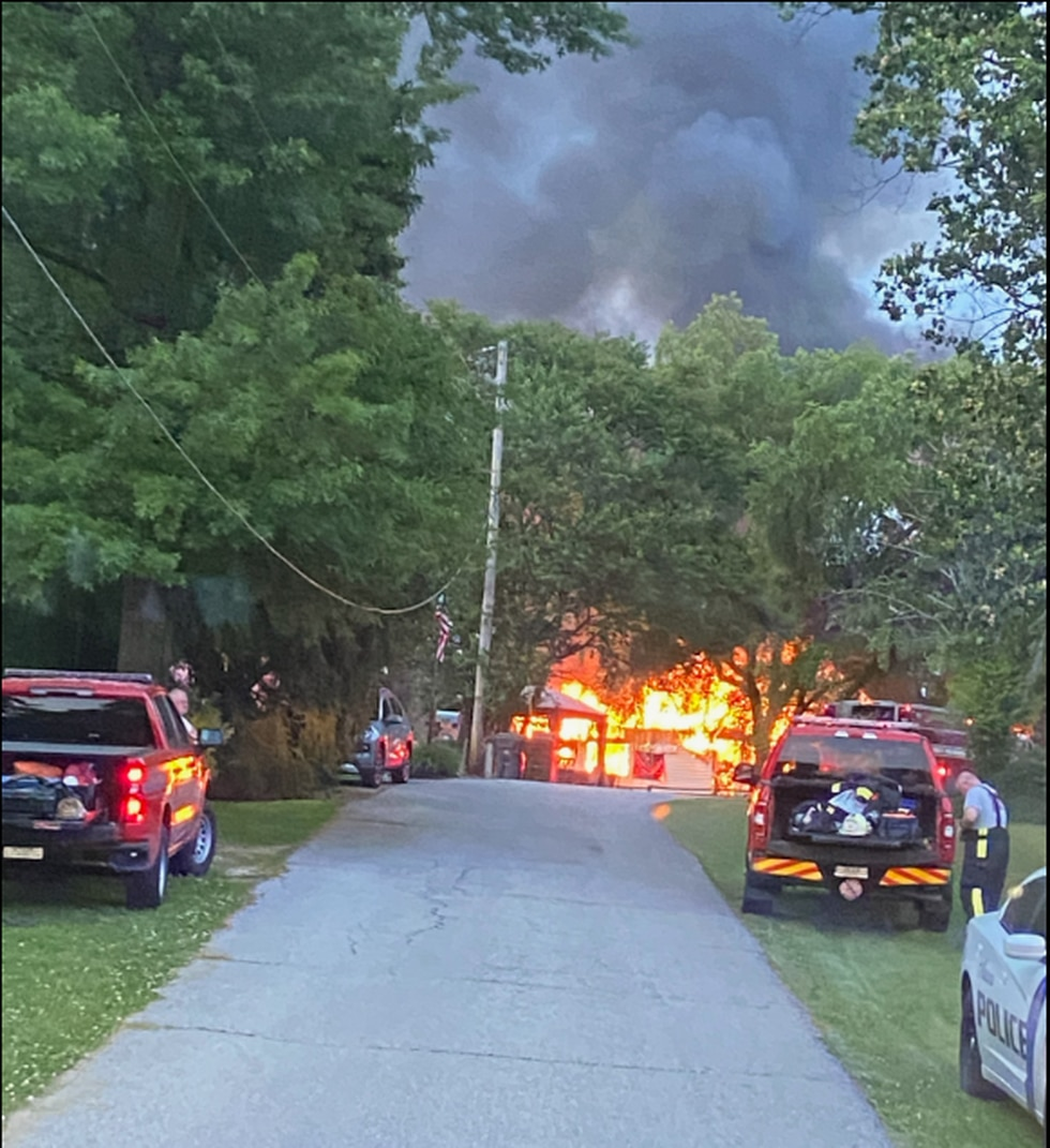 Departments on the fire scene included Aurora Fire, Aurora EMS, Aurora PD, Aurora utilities,...