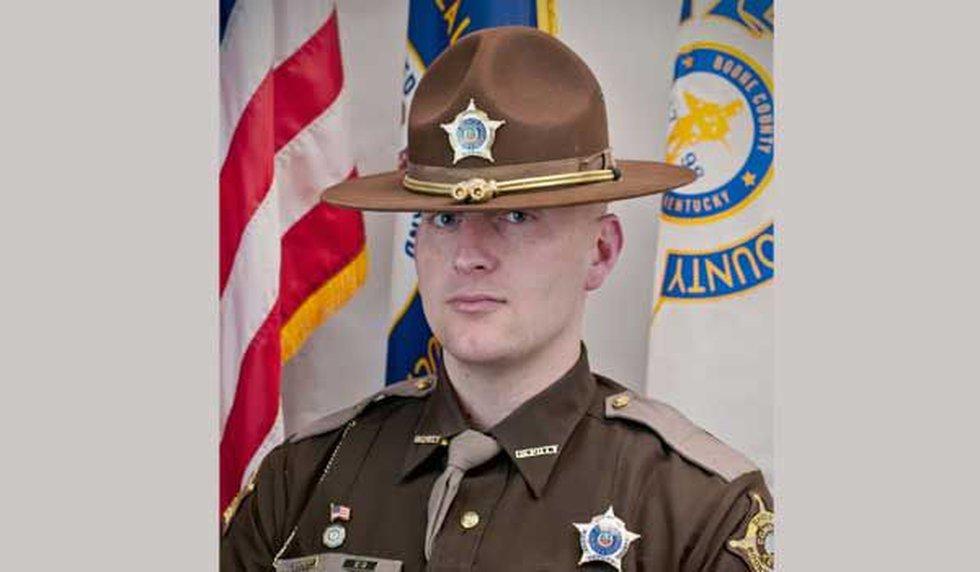 Deputy Tyler Brockman. (Source: Boone County Sheriff's Office)