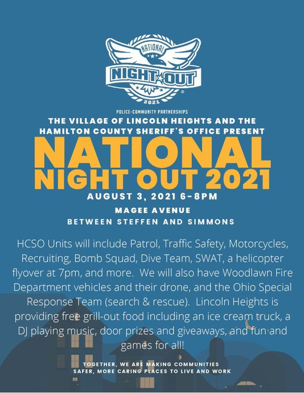 National Night Out in Lincoln Heights.